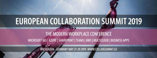 European Collaboration Summit 2019